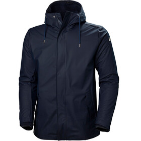 Helly Hansen Moss Insulated Rain Coat Men, navy